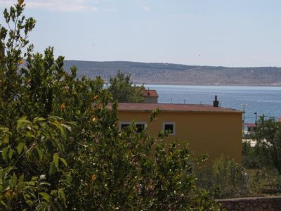 Photo for Two bedroom apartment with balcony Starigrad (Paklenica) (A-6623-f)