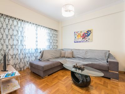 Photo for Comfy Apartment in Acropolis Area by Cloudkeys