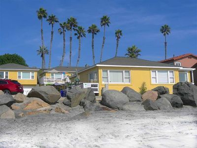 Photo for STEPS to the SAND.  Oceanfront Vacation 3 Bedroom at the Beach!