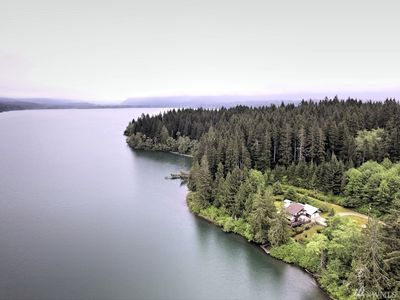 Photo for Secluded Lakefront Retreat on 7 acres on Lake Quinault