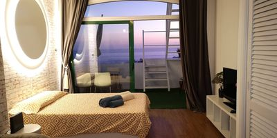 Photo for Tenerife south exclusive, free wi-fi, satellite TV