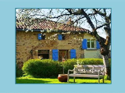 Photo for Romantic Cottage Charente (max. 3 people & 1 baby / toddler)