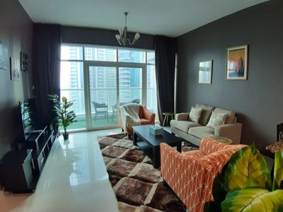 Photo for Deluxe 2 Bedroom Apartment  with full Marina View