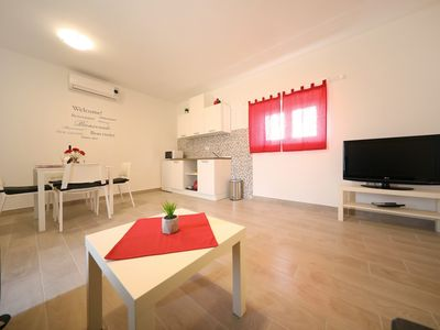 """Photo for Stone house apartment """"Nuovo"""", Turanj"""