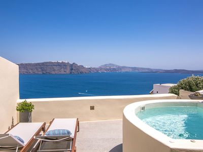 Photo for Stunning Aloy Suite to rent in Santorini (Greece) by My Rental Homes