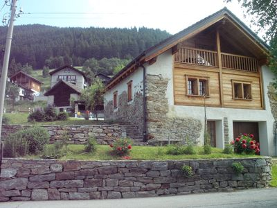 Photo for Unique charm chalet in the valley.
