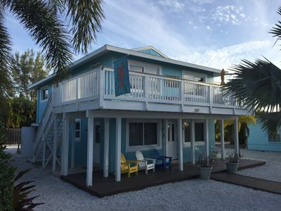 Seaside Sanctuary #1 is the upper level of this beach front duplex.