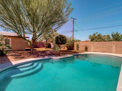 Photo for Newly renovated, dog-friendly home w/ a private pool, enclosed yard, & more!