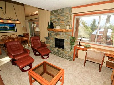 Photo for Mammoth Ski and Racquet Club #119, 1 Bedroom + Loft, 2 Full Bathrooms. Pet Friendly with Views