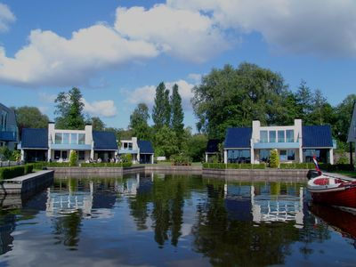 Photo for The panorama villas are unique in the Netherlands .
