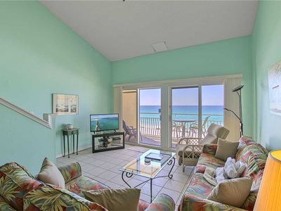 Photo for Crystal Sands 306B - Gulf Front! Free Beach Service! Heated Community Pool!