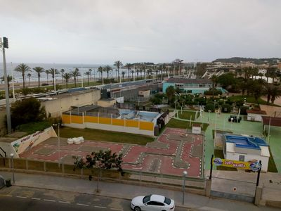 Photo for Apartment overlooking the beach