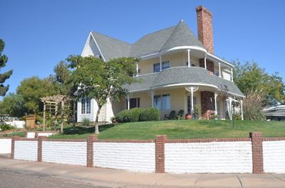 Welcome to our home! Where Victorian meets the Southwest!