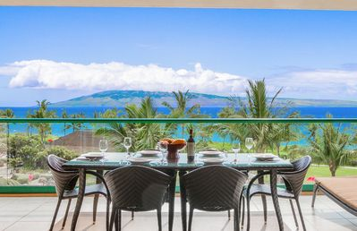 Photo for Maui Resort Rentals: Honua Kai Konea 401 – Crown Jewel Oceanfront 2BR, Sweeping Ocean Views w/ B.B.Q on Balcony