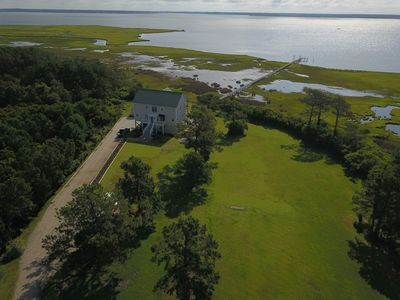 Photo for Chateau De La Mer With Stunning Views Of The North River In Beaufort, NC