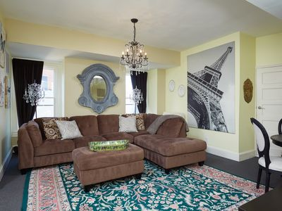 Photo for EMERGENCY HOUSING AVAILABLE - X-Large Bright Kalorama Apt - convenient location