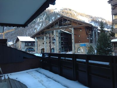 Photo for In the heart of Val d Isère, apartment for 5 people