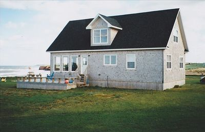 Photo for Luxury PEI Oceanfront Beach House, Sea View, 3BR/2BA, Sleeps 7
