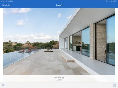 Photo for Villa with infinity pool brandnew 2010