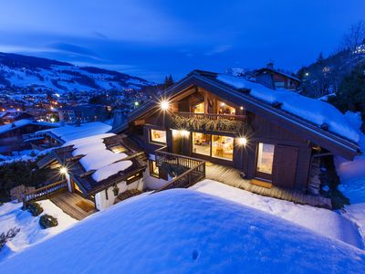 Photo for Beautiful Chalet in Megève village