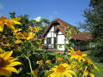 Photo for Holiday house Deichgraf 86 in the holiday village Altes Land - Holiday house 167 Deichgraf 86qm for max. 6 persons