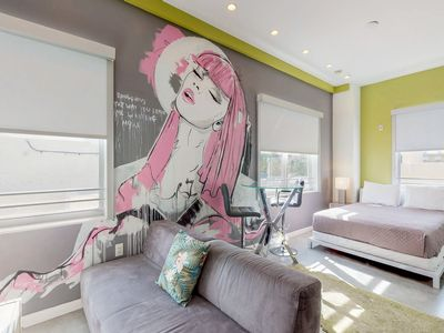 Photo for NEW LISTING! Eccentric street art themed studio in vibrant South Beach!