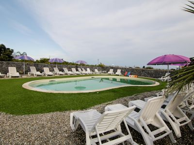 Photo for Il Rustico Pozzillo House With Pool And View Of Etna Between Catania And Taormin