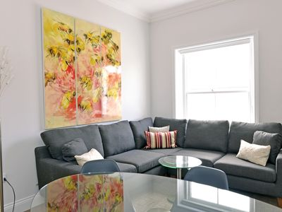 Photo for Bicknell House (Lascelles) - contemporary 3-bed penthouse flat just off seafront