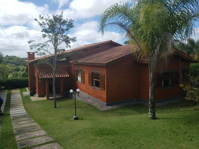 Photo for BEAUTIFUL HOUSE -COND. PORTO DE IBIÚNA - 4 BEDROOMS - PERFECT FOR RELAXING !!