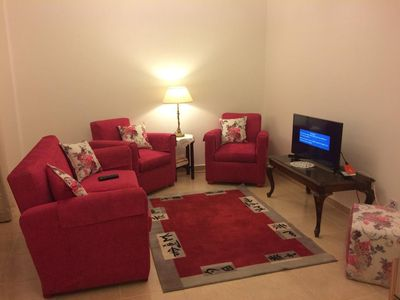 Photo for Cheerful ight Apartment in B3 Central Area in Madinity - Cairo