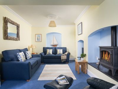 Photo for A charming village house sleeping 6, close to pubs and harbour