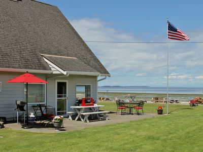 Photo for Waterfront Bow Home w/ Fire Pit on Samish Island!