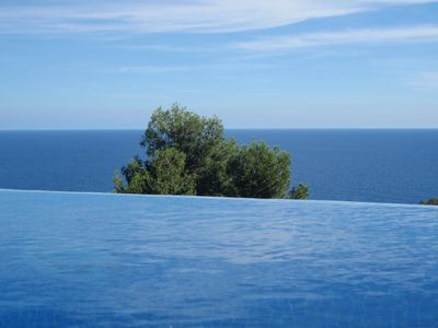 Photo for OCEAN VIEW PRIVATE POOL WITH OXYGEN, TERRACE WITH SEA AND FOREST SEA VIEWS