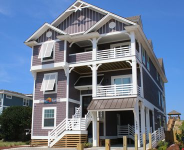 Photo for Coastal LegaSea, New 8 Bedroom Oceanfront Home in Nags Head
