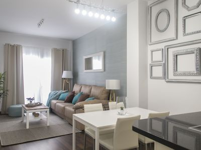 Photo for NEW !!! LUXURY CITY CENTER 2 BEDROOMS (6pax) + FREE WIFI & PRIVATE PATIO / TERRACE