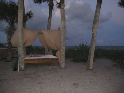 King Size Bed on the Beach