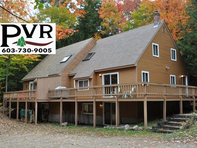 4BR Near Storyland & Hiking. Pool, AC, Cable, WiFi & Large Deck w/ Grill!