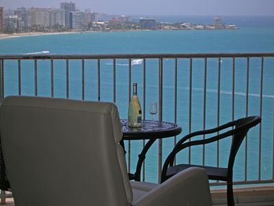 Photo for Spectacular Full Ocean View -  Beach Front, WIFI, Free Parking, Full Kitchen