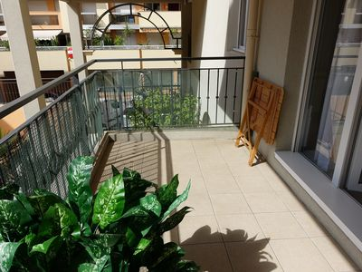 Photo for 2 ROOMS WITH TERRACE - PRIVATE PARKING - INTERNET - MENTON TOWN CENTER