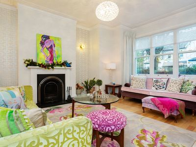 Photo for Beautifully decorated home with wonderful garden perfect for large groups- Veeve