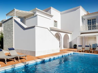 Photo for Luxurious villa with a private swimming pool, just 1 km from the beach
