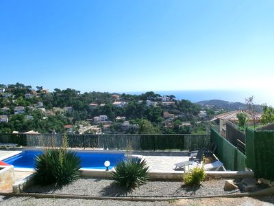 Photo for House with private pool near the beach of Cala Canyelles