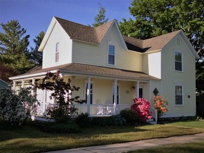 Photo for Enchanting Elk Rapids Victorian, 2 Blocks from Beaches