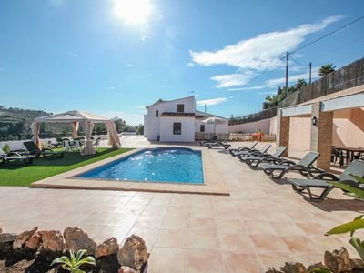 Photo for Finca La Verema - holiday home with private swimming pool in Benissa