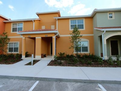 Photo for Townhome With Private Pool In Gated Resort Near Disney!