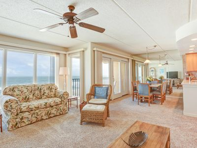Photo for 2 Bed/2 Bath, 4th floor Oceanfront condosleeps 4.  Oceanfront deck and pool.