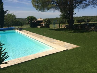 Photo for Quiet Country Property set in 6 acres with Heated Pool and Self-Contained Gite
