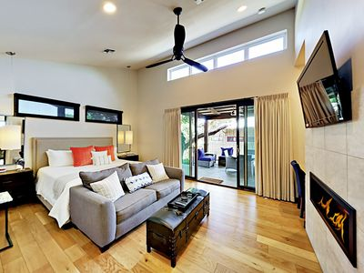 Living Area - Welcome to Spicewood! This cabin is professionally managed by TurnKey Vacation Rentals.