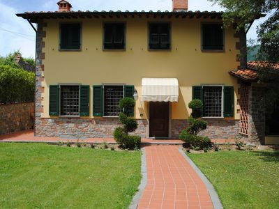 Photo for Spacious holiday home with large enclosed garden and private pool near Lucca