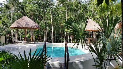 Photo for Pura Vida Cancun - Guesthouse and pool in the jungle
